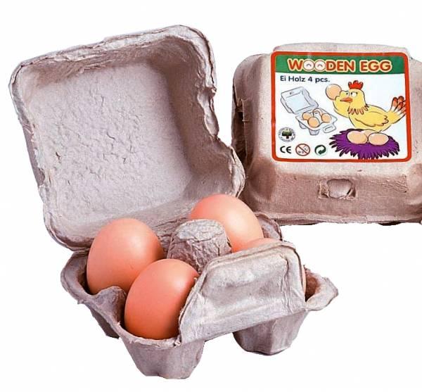 Eier, braun