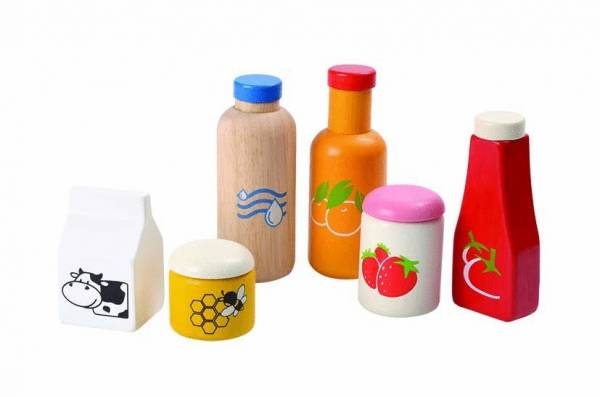 Lebensmittel- und Getränke-Set