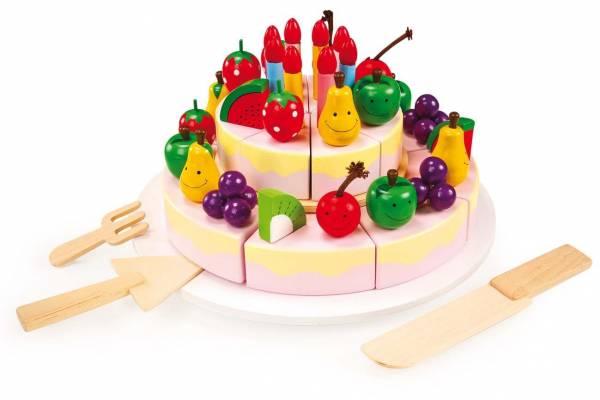 Geburtstagstorte Früchte