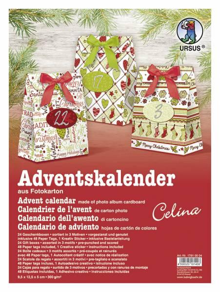 Adventskalender Celina Bastelset