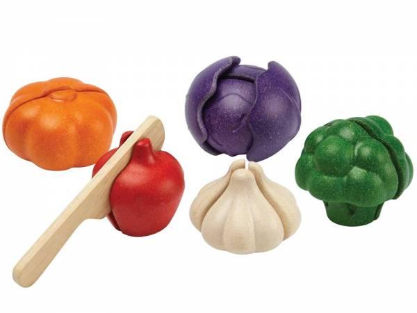 Gemüse 5 Sorten zum Schneiden