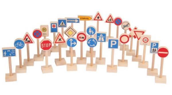 Verkehrszeichen Set 28 Teile