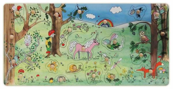 Stempel-Puzzle Zauberwald