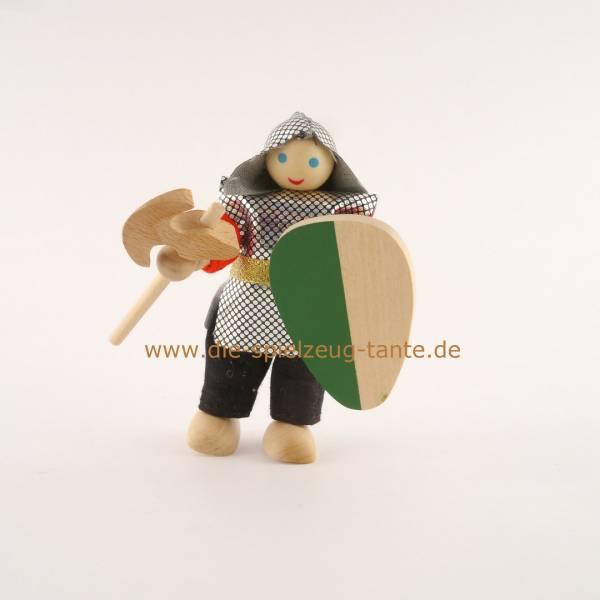 Ritter mit Ritteraxt, grün