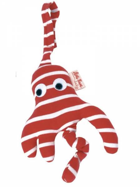 Kindersitzanhänger Octopussi rot