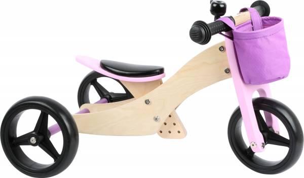 Laufrad-Trike 2 in 1 Rosa