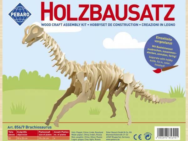 Holzbausatz Brachiosaurus
