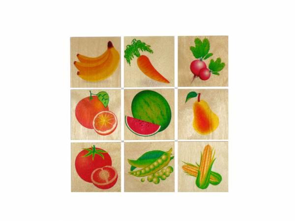 Memo Obst und Gemüse