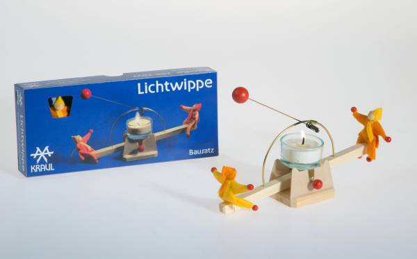 Lichtwippe mit Püppchen, Bausatz