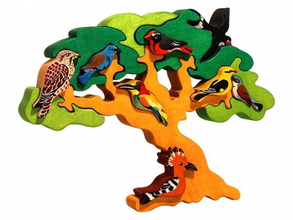Vogelbaum Zugvögel