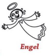 Engel Einzelstempel