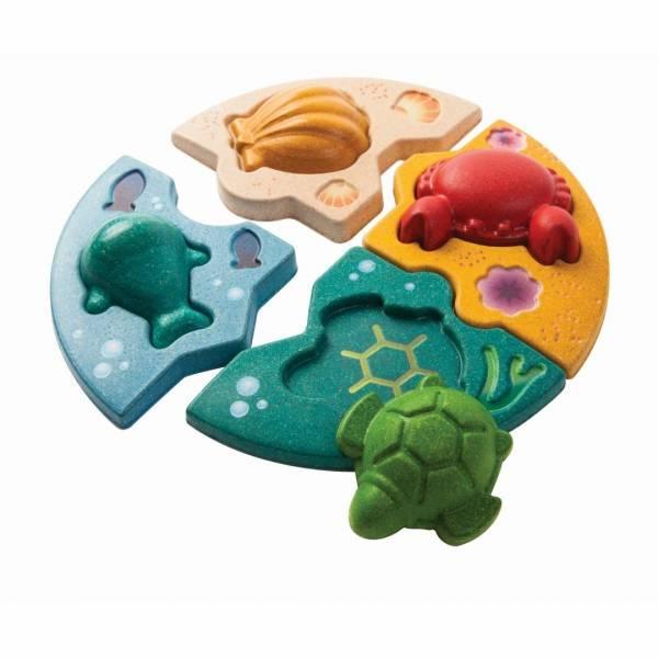 Unterwasserpuzzle