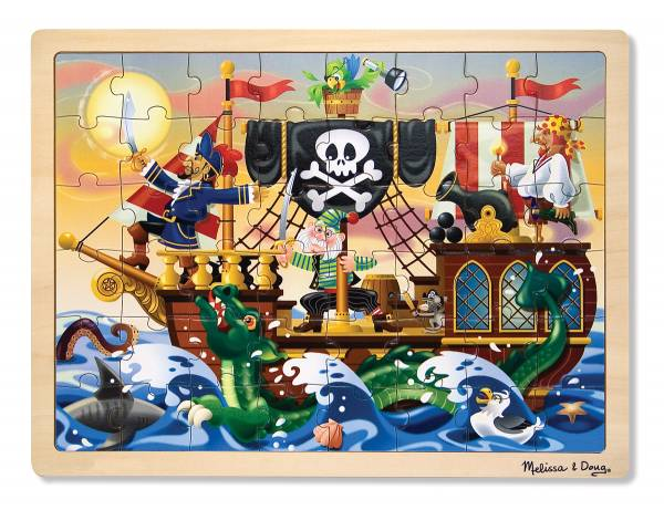 Holzpuzzle Piratenabenteuer