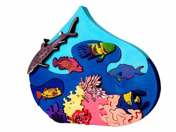 Puzzle Meerestropfen Rotes Meer