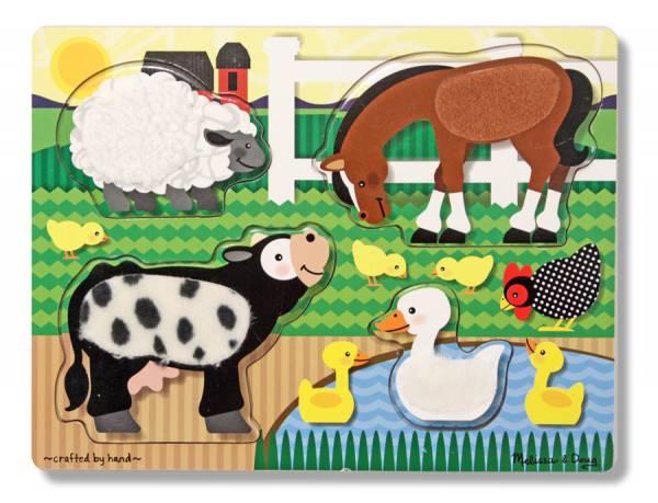 Fühlpuzzle Bauernhoftiere