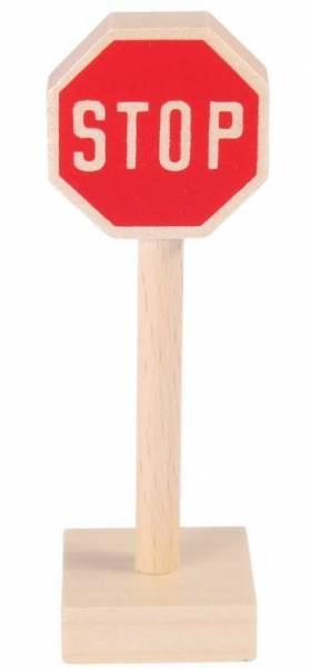 Verkehrszeichen STOP- Schild