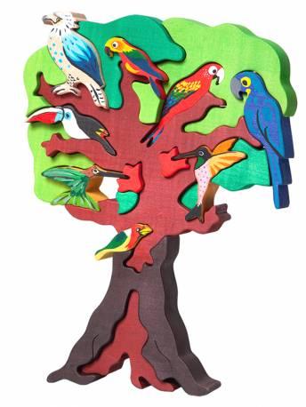 Vogelbaum Süd-Amerika