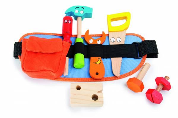 Werkzeuggürtel, rot - orange