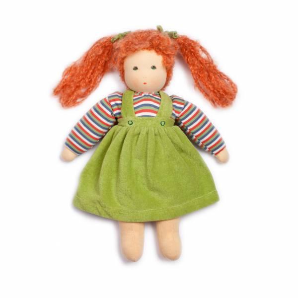 Puppe Wolke grün