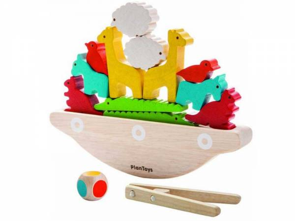 Balancierspiel Boot