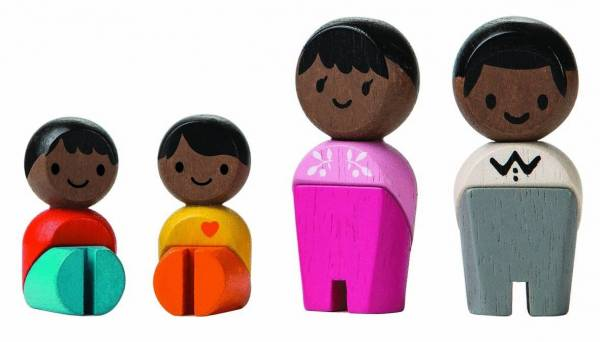 Spielfiguren Familie Afrika