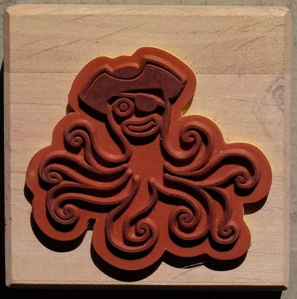 Oktopus Einzelstempel