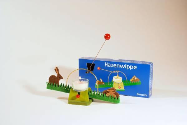 Lichtwippe mit Hasen, Bausatz
