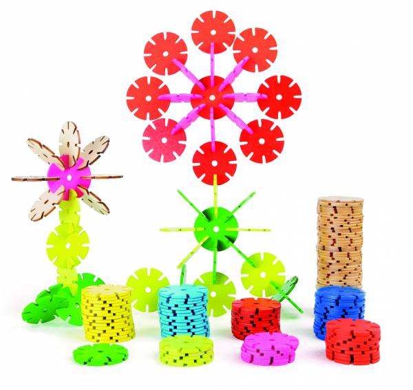 Verbindungsspiel Blumen