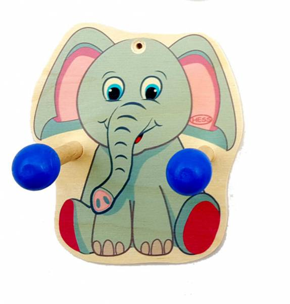 Kindergarderobe Elefant