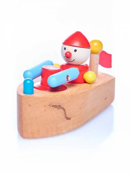 Löschboot mit Stehwicht