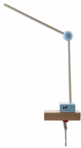 Mobilehalter hellblau