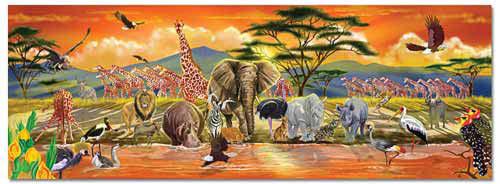 Bodenpuzzle Safari